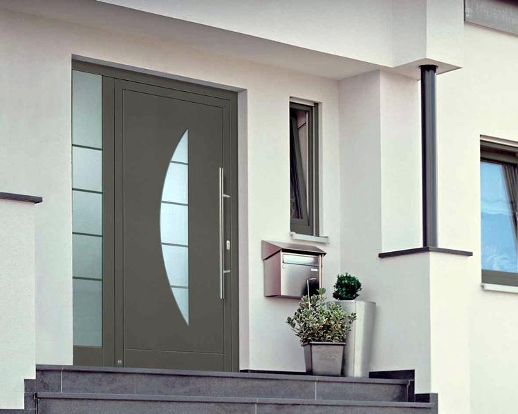 входные двери стеклопакет для домов