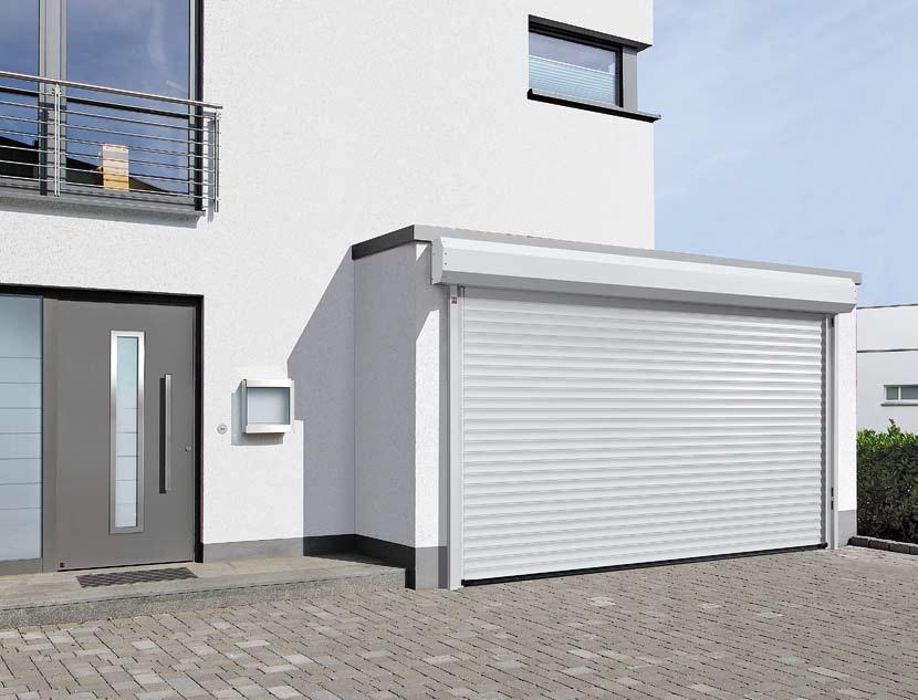 ворота гаражные рулонные